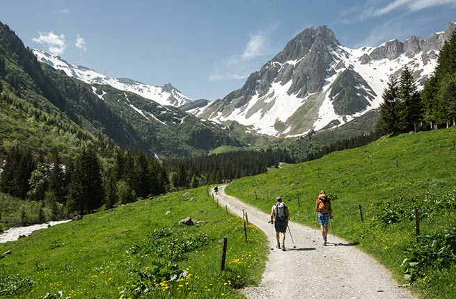 Where to Head for a Hike in the French Alps